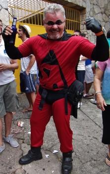 O super-herói! Foto: CMC