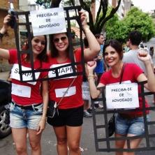 Estas também foram muito criativas! Prisioneiras pelos crimes de furto e cárcere privado ;) Foto: CMC