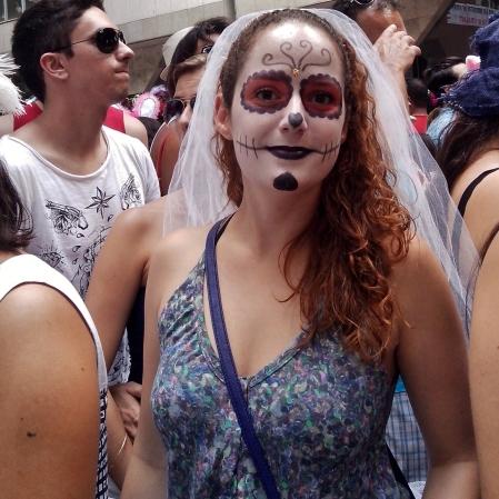 A noiva-cadáver! Foto: CMC