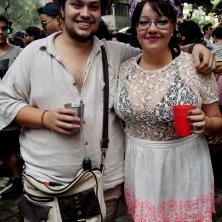 Lampião e Maria Bonita! Foto: CMC