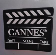 Ímã de Cannes (França), presente da amiga Cynthia :) Foto: CMC, em 9.5.2015
