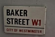 A casa de Sherlock! Trazida de Londres. Foto: CMC, em 27/3/2015