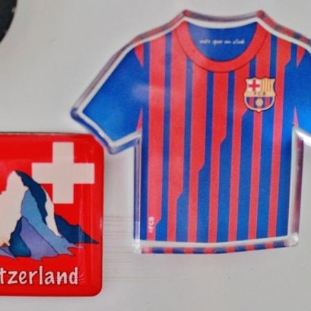 Suíça e o Barça! presentes do Thiago Meller. Foto: CMC, em 27/3/2015