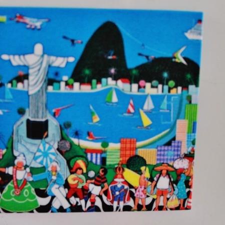 Lindo ímã do Rio, presente da sogra: Foto: CMC, em 27/3/2015