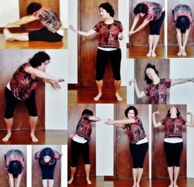 Alguns exercícios de Qi Gong