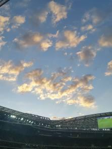 Foto tirada por Gabi Castro na Arena Palmeiras, em São Paulo, no dia 7.6.2015