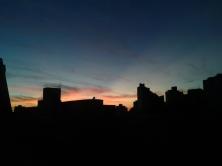 Foto do pôr do sol em 31/5/2015. De CMC