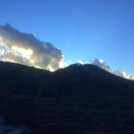 Foto tirada por Ana Rita C. Ferreira, no dia 6 de junho, na Serra da Mantiqueira, próximo a Itajubá.