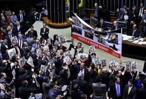 """Ato contra """"cristofobia""""na Câmara dos Deputados. Foto: Luis Macedo/Agência Câmara"""
