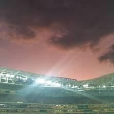 Foto tirada por Gabi Castro no dia 7.6.2015, na Arena Palmeiras, em SP.