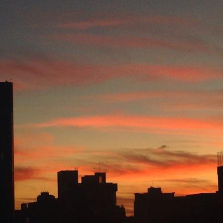 Foto tirada por Laura Las Casas, no bairro Serra, em Belo Horizonte.