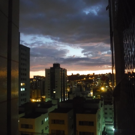 Foto de Ricardo Faria, feita no Buritis, em Belo Horizonte, no dia 16 de junho.