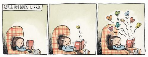 Tirinha do Liniers