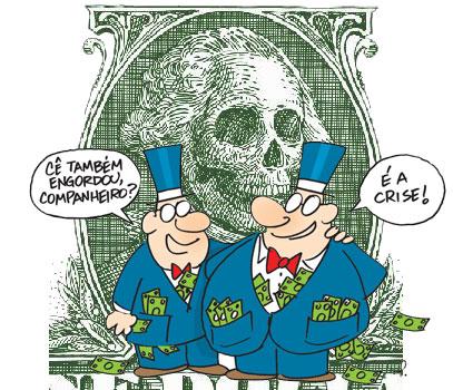 Resultado de imagem para banqueiros charges