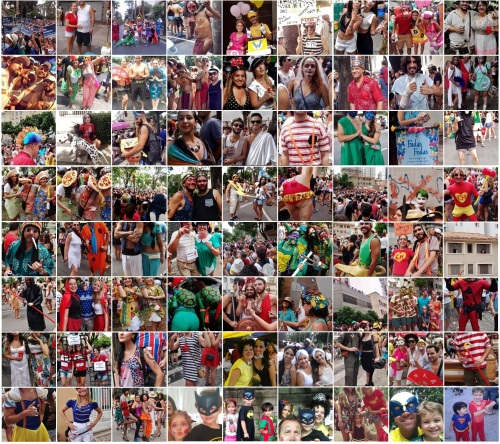 As melhores fantasias do Carnaval de Belo Horizonte em 2015 :D Fotos: CMC
