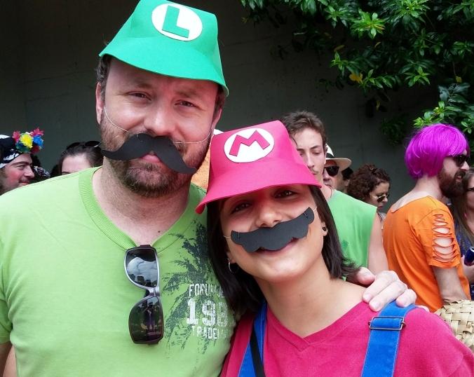 Mario e Luigi. Foto: CMC