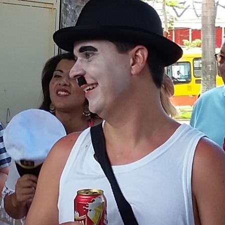 Carlitos também apareceu :) Foto: CMC