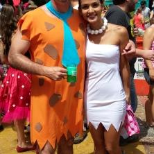 Fred Flintstone e Vilma :) Foto: CMC