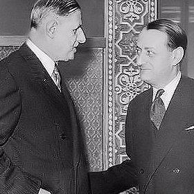 André Malraux e Charles de Gaulle. Foto: Foundation André Malraux
