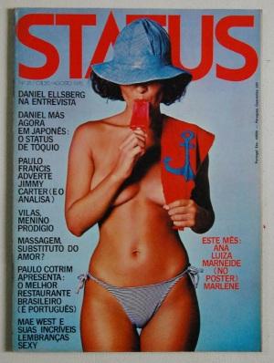 """A edição da """"Status"""" com a entrevista de Ellsberg a Paulo Francis."""