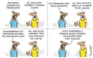 """Charge do Duke publicada no jornal """"O Tempo"""" do dia 14.6.2016"""