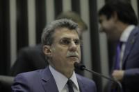 Romero Jucá, o primeiro ministro derrubado. Foto: Agência Senado
