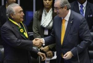 Temer e Cunha: dupla da pesada. Foto: Gustavo Lima/ Câmara dos Deputados