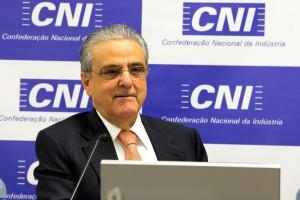 Coletiva com a Imprensa da Presidência da CNI, Robson braga de Andrade. Foto Miguel Ângelo