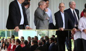 Lula estava presente no pronunciamento que Dilma deu após votação do impeachment. Foto: Lula Marques/ AGPT
