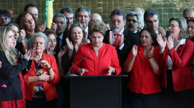 Dilma em seu pronunciamento nesta quarta-feira, 31 de agosto de 2016. Foto: Lula Marques/ AGPT