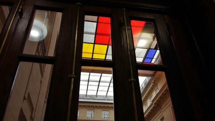 A exposição do Mondrian no CCBB foi muito legal -- e de graça! Fotos: Beto Trajano
