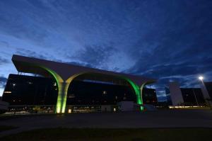 A Cidade Administrativa. Foto: Gil Leonardi / Imprensa MG