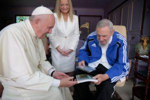 Papa Francisco e Fidel Castro. Foto: Ismael Francisco/ Cubadebate
