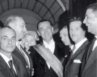 Juscelino no dia de sua posse, em 1956. Foto: Arquivo Nacional do Brasil