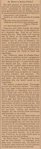 O famoso editorial de Francis P. Church | Coleção do Newseum