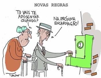 Resultado de imagem para privatização da Previdencia charges