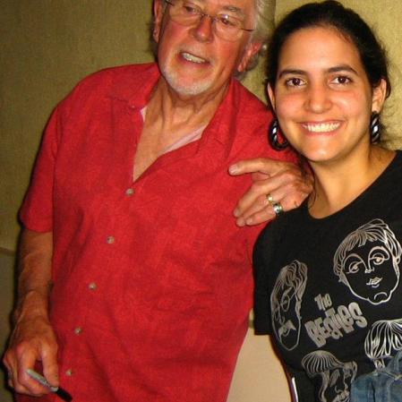 Essa aí foi depois do show, quando pedi um autógrafo para o grande John Mayall, mentor de Clapton. Via Funchal, São Paulo, maio de 2008. (R$ 30)