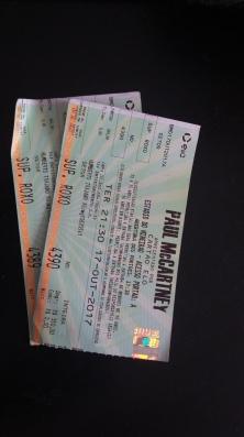 Terceiro show que vi do Paul McCartney, de novo em BH, no Mineirão, em 17.10.2017. Ganhei ingresso em promoção.