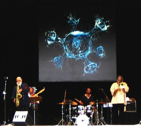 Sonny Rollins! Tim Festival, Parque Ibirapuera, São Paulo, outubro de 2008. (Grátis!) Acho que vi este sozinha.