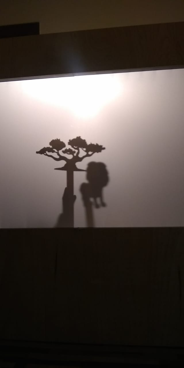 Teatro de sombras do Luiz!