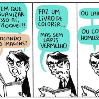 """João Montanaro critica Bolsonaro que disse que livros didáticos têm """"muita coisa escrita"""""""