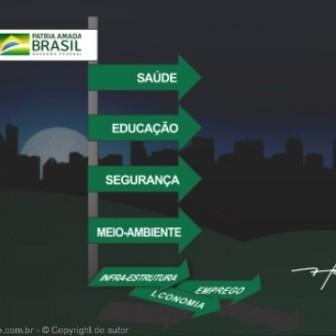 Brasil na contramão, por Fred, do A Charge Online
