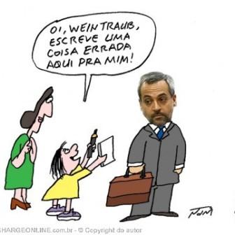 Nani zoa o erro crasso de português do ministro da Educação (sic)