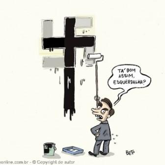 Beto mostra a cara do nazismo no governo Bolsonaro