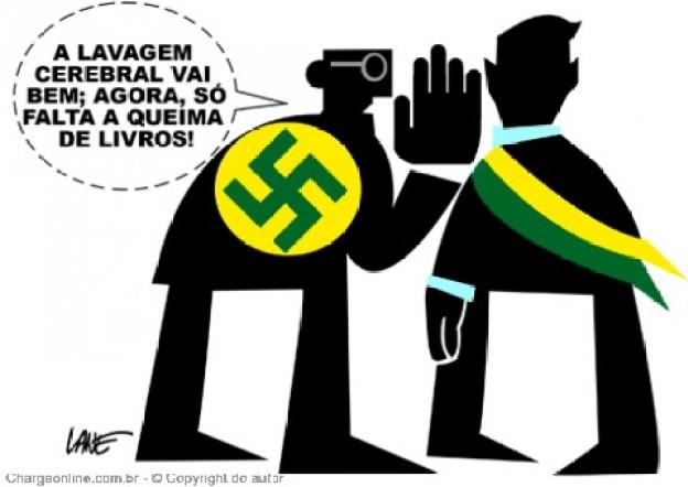 20 charges sobre o nazismo e outros absurdos no governo Bolsonaro ...
