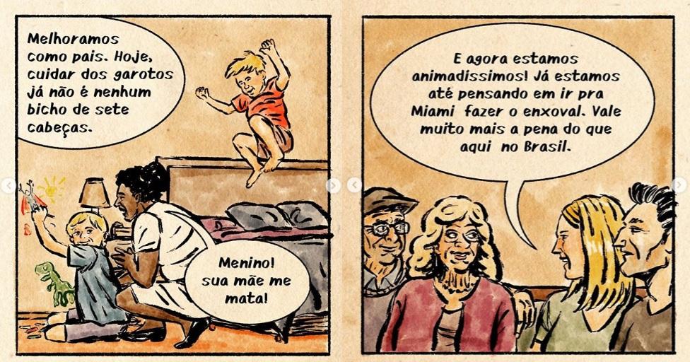 O genial Leandro Assis: tirinhas que são murros no estômago dos ...