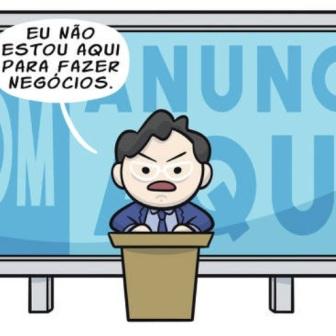 """Claudio Mor ironiza o chefe da Secom na """"Folha"""""""