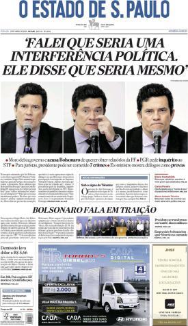 capa-jornal-o-estado-de-sao-paulo-25-04-2020-efe