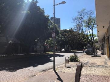 Avenida Getúlio Vargas.