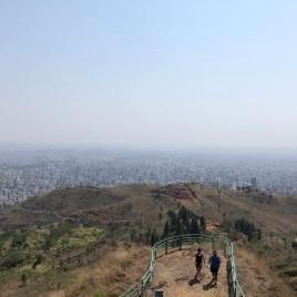 Vista do Parque da Serra do Curral.